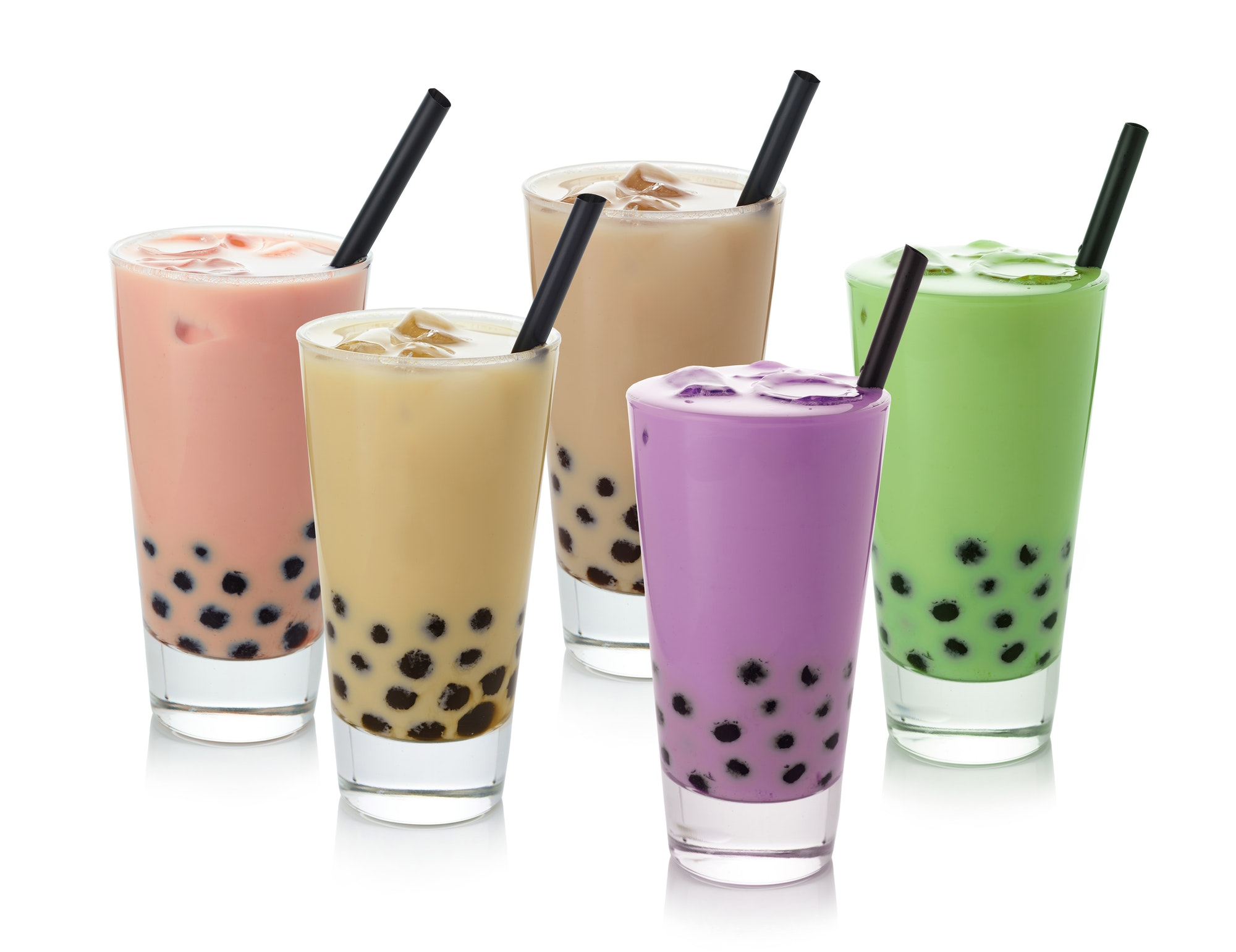 iced bubble tea